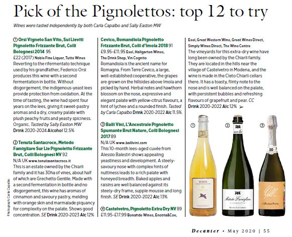 Pick of the Pignolettos: top 12 to try